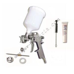 Бояджийски пистолет с допълнителна дюза и почистващ комплект